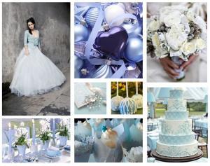 di bianco e d'azzurro