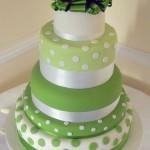 torta-nozze-in-verde-a-pois